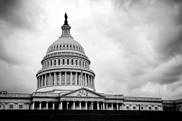 The United States Capitol Building, Washington, DC stock photo
