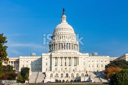 istock The United States capitol builing on a sunny day. 857514306