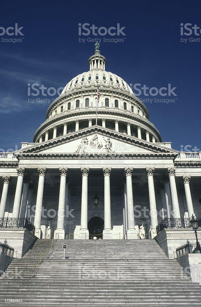 The United States Capitol Washington DC stock photo