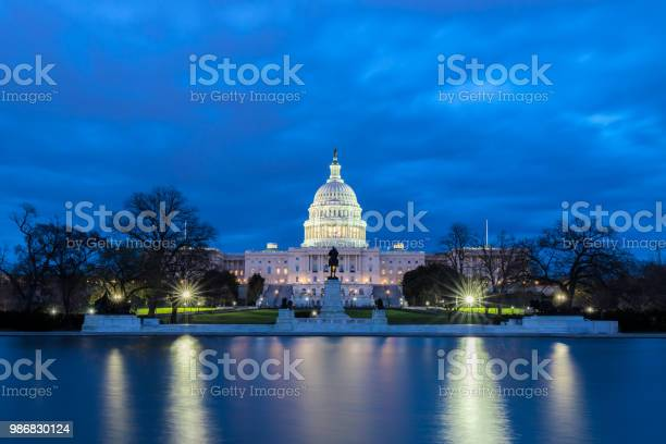 The united states capitol with reflection at night washington dc usa picture id986830124?b=1&k=6&m=986830124&s=612x612&h=a0frsajbagaublvdbqu3psctsjehey6janeuskk4hps=