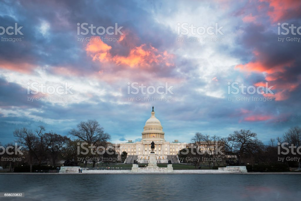 The United States Capitol,Washington, D.C. stock photo