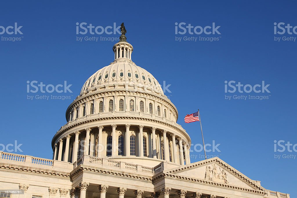 The United States Congress, Washington D.C. stock photo