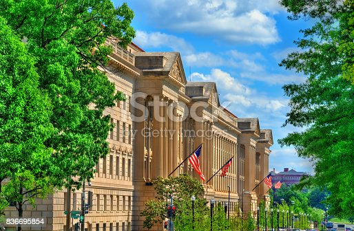 istock The United States Department of Commerce in Washington, D.C 836695854