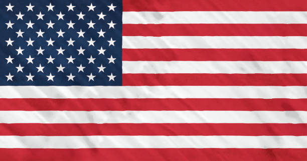 the united states of america flag. - american flag stock pictures, royalty-free photos & images