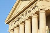 The University of Alabama sign