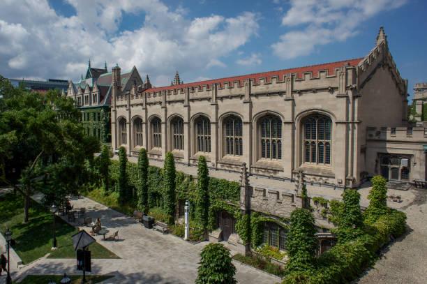 The University of Chicago stock photo