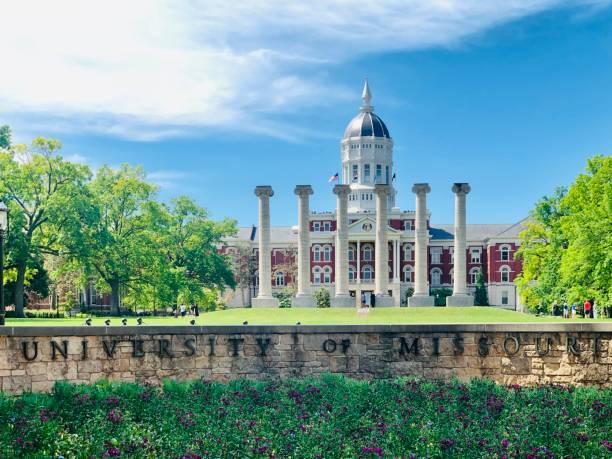 The University of Missouri Mizzou campus university of missouri columbia stock pictures, royalty-free photos & images