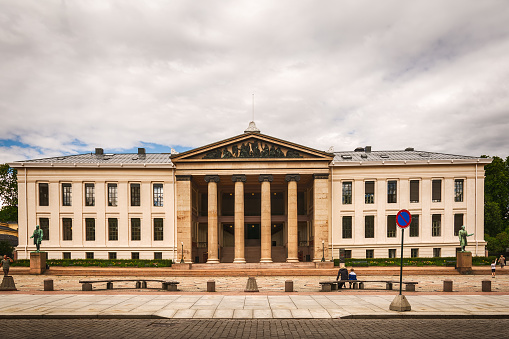 The University Of Oslo Foto de stock y más banco de imágenes de 2016