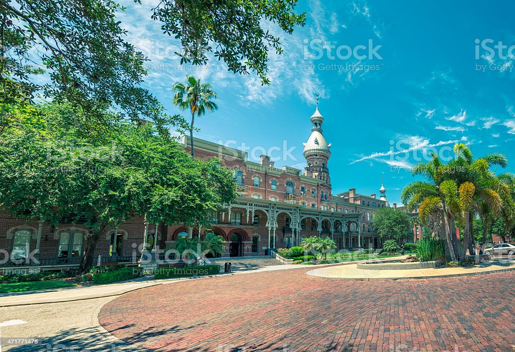 The University Of Tampa stock photo