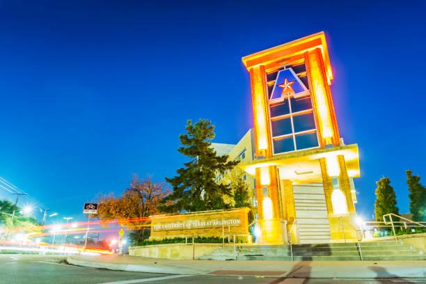 The University of Texas at Arlington stock photo