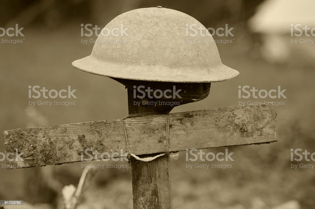 The Unknown Soldier stock photo