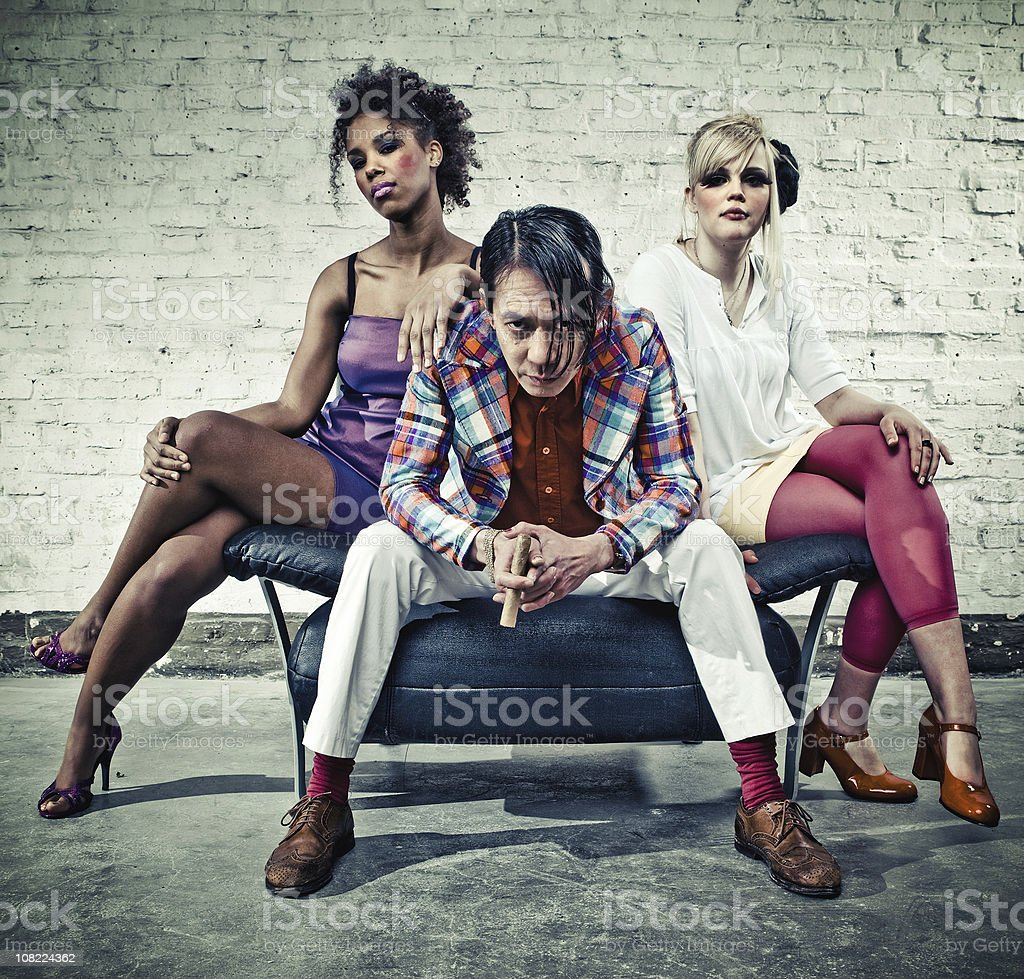 the unusual suspects royalty-free stock photo