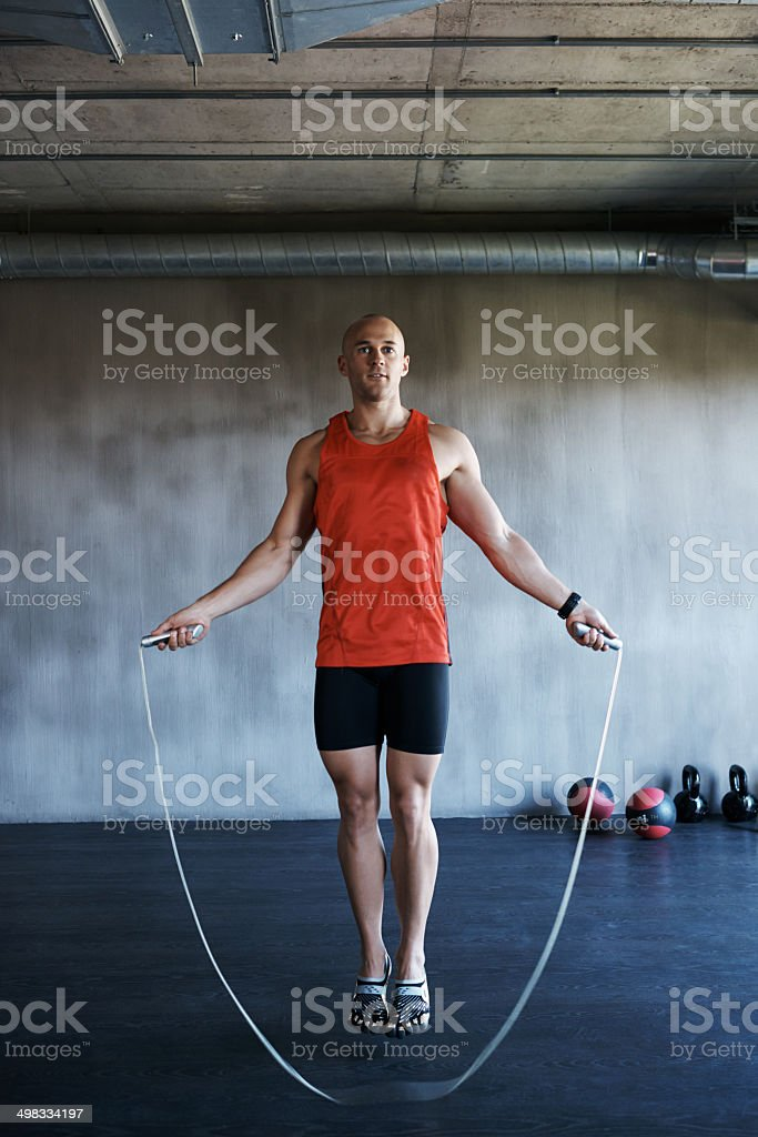 The ups and downs of fitness stock photo