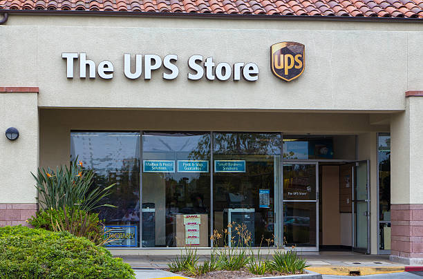The UPS Store Exterior stock photo