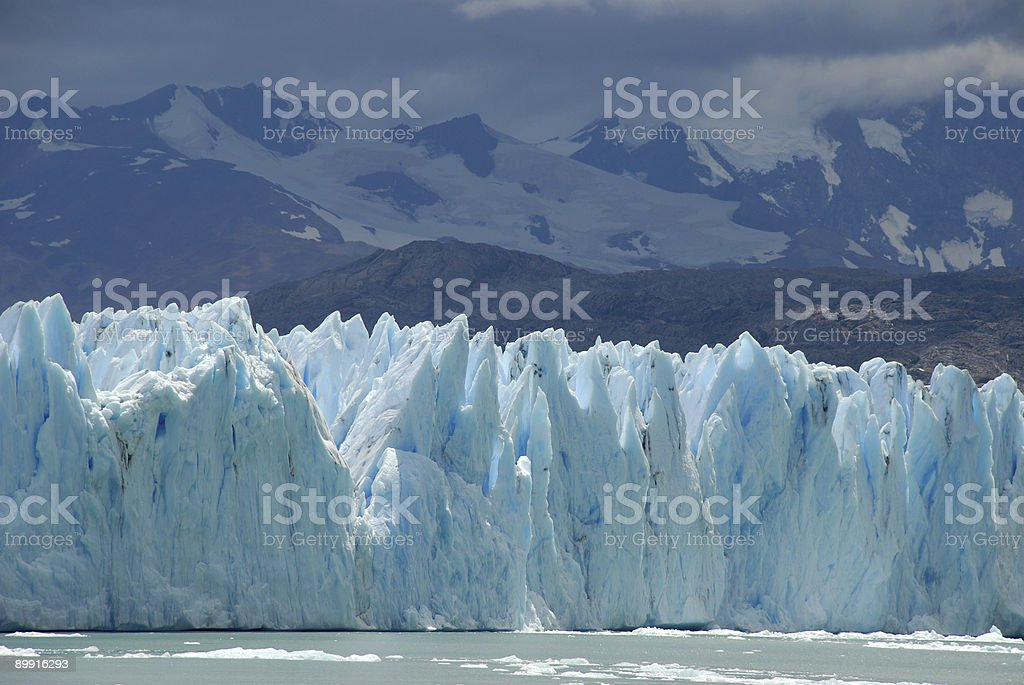 The Upsala glacier in Patagonia, Argentina. royalty-free stock photo