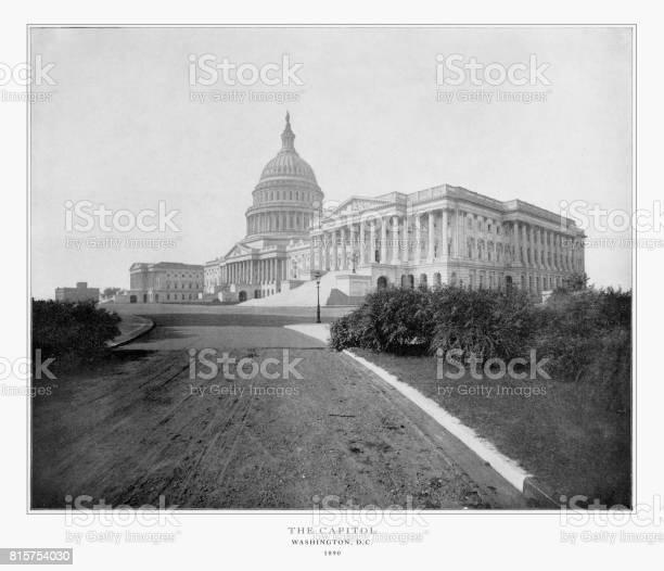 The us capitol washington dc united states antique american 1893 picture id815754030?b=1&k=6&m=815754030&s=612x612&h=e gwaw1ojb7ojbfvrfxnpyoncozdd81rn685nm9za1w=