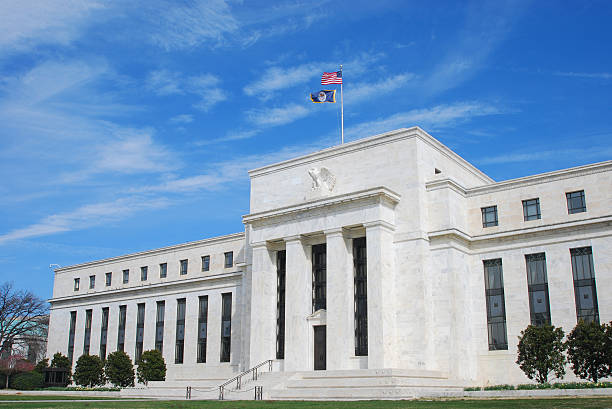 US Federal Reserve, Washington D.C. (im Frühling – Foto