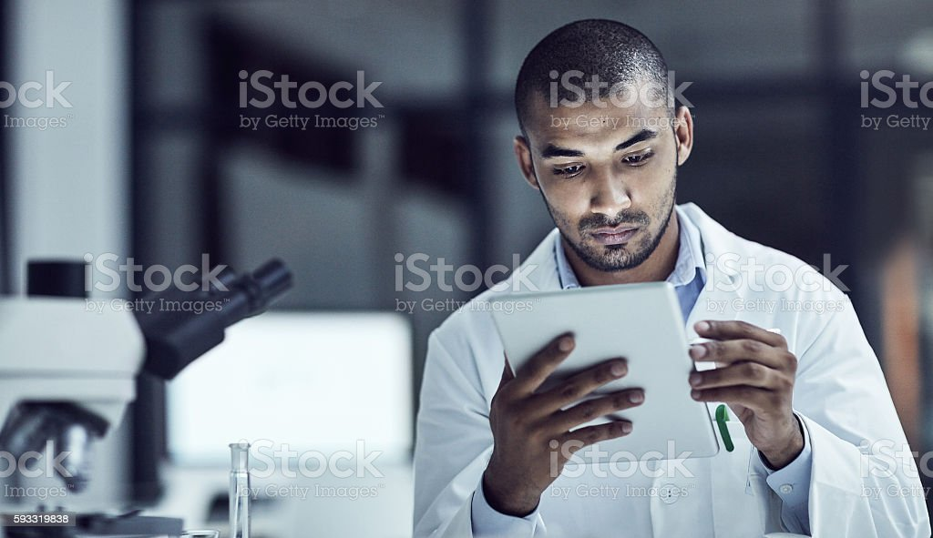 The use of electrical medical records increases stock photo
