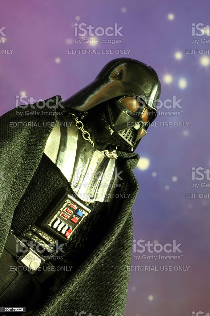 The Vader stock photo