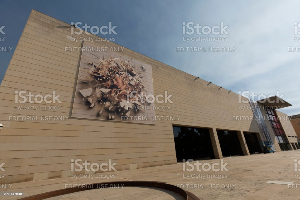 The Valencian Institute Of Modern Art Stock Photo More