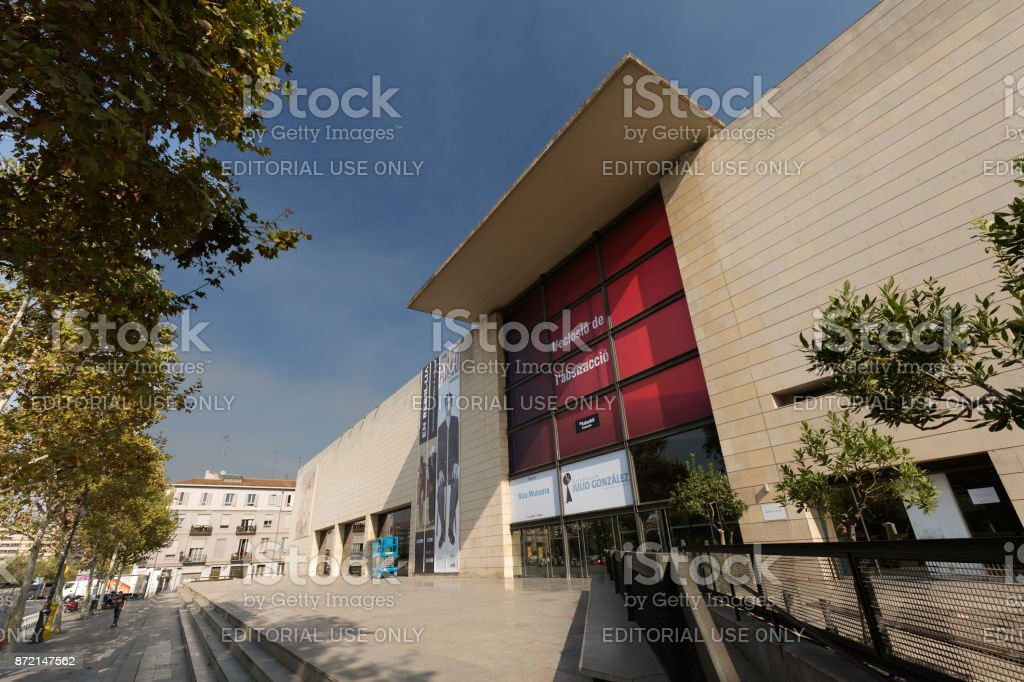 The Valencian Institute Of Modern Art Stock Photo Download