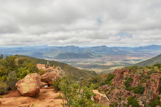The valley of desolation, South Africa stock photo