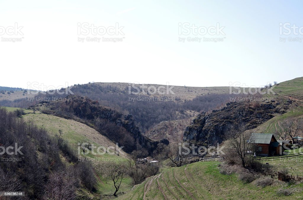 El Valle de piedra foto de stock libre de derechos