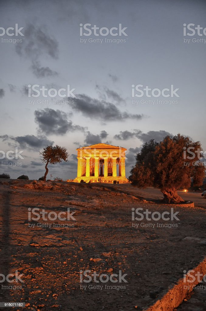 The Valley of the Temples - foto stock