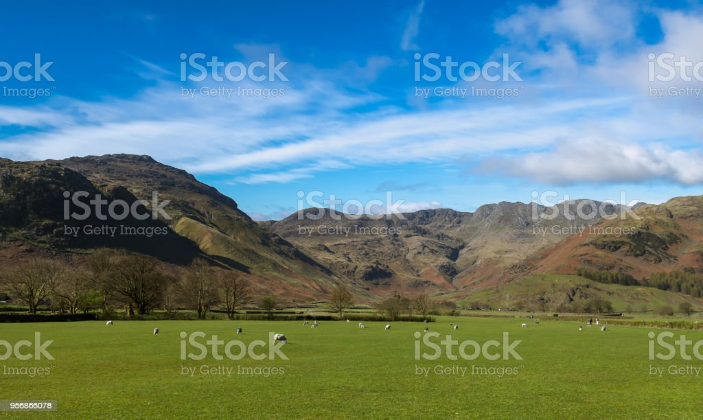 The Valley stock photo