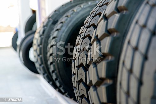 496485590istockphoto The Various Types of Tires 1143790786