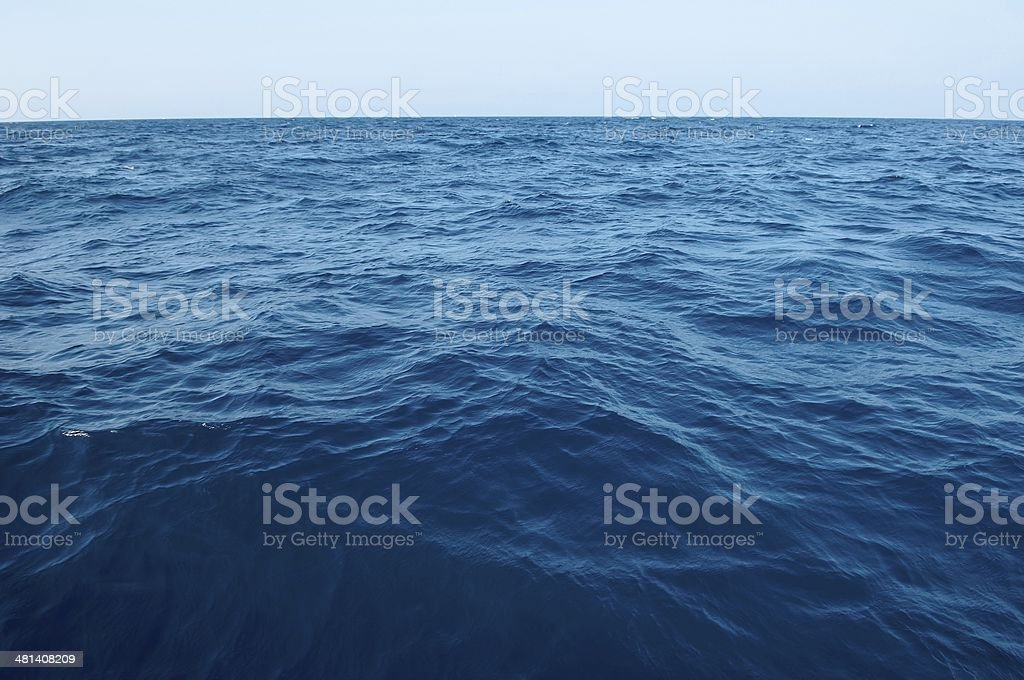 The vast sea stock photo