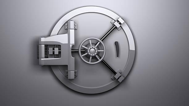 the vault geschlossen - safe stock-fotos und bilder