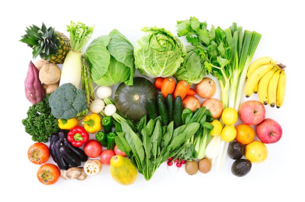 白の野菜 - 沢山の物 ストックフォトと画像