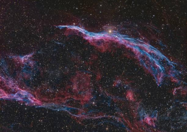 Der Schleier Supernova-Überrest in Cygnus – Foto
