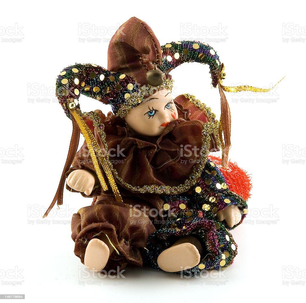 The Venetian doll royalty-free stock photo