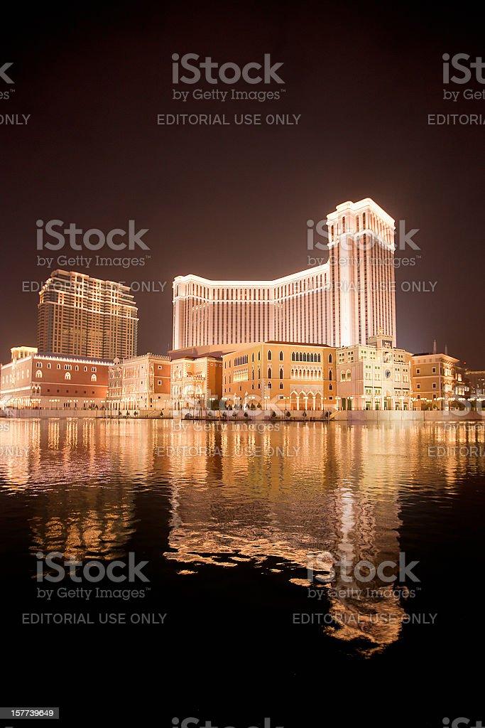 The Venetian Macao stock photo
