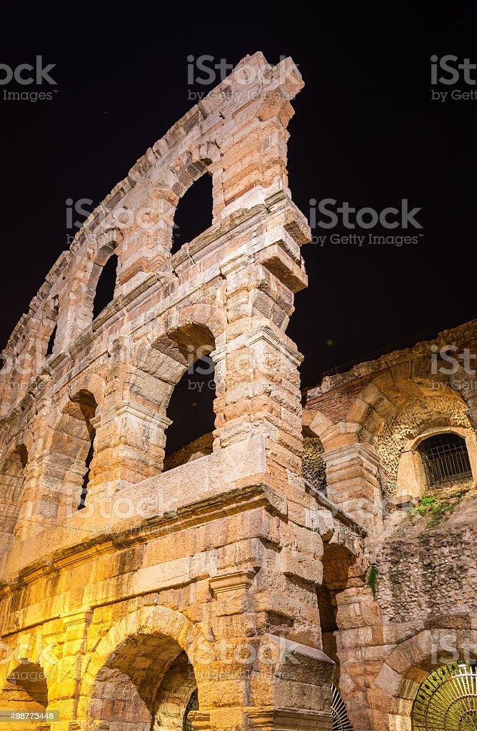 L'Arena di Verona, teatro romani, in Italia - foto stock