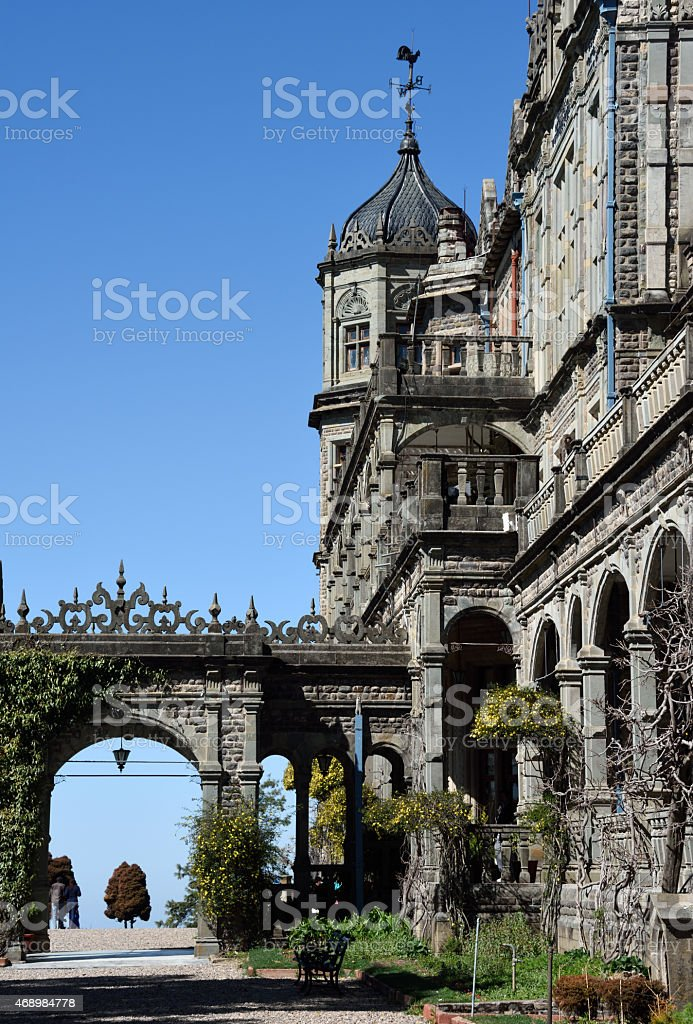 The Viceregal Lodge, also known as Rashtrapati Niwas stock photo