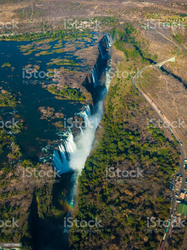 The Victoria Falls In Zimbabwe Africa Stock Photo Download Image Now