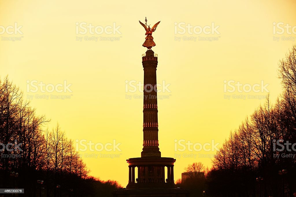The Victory Column stock photo