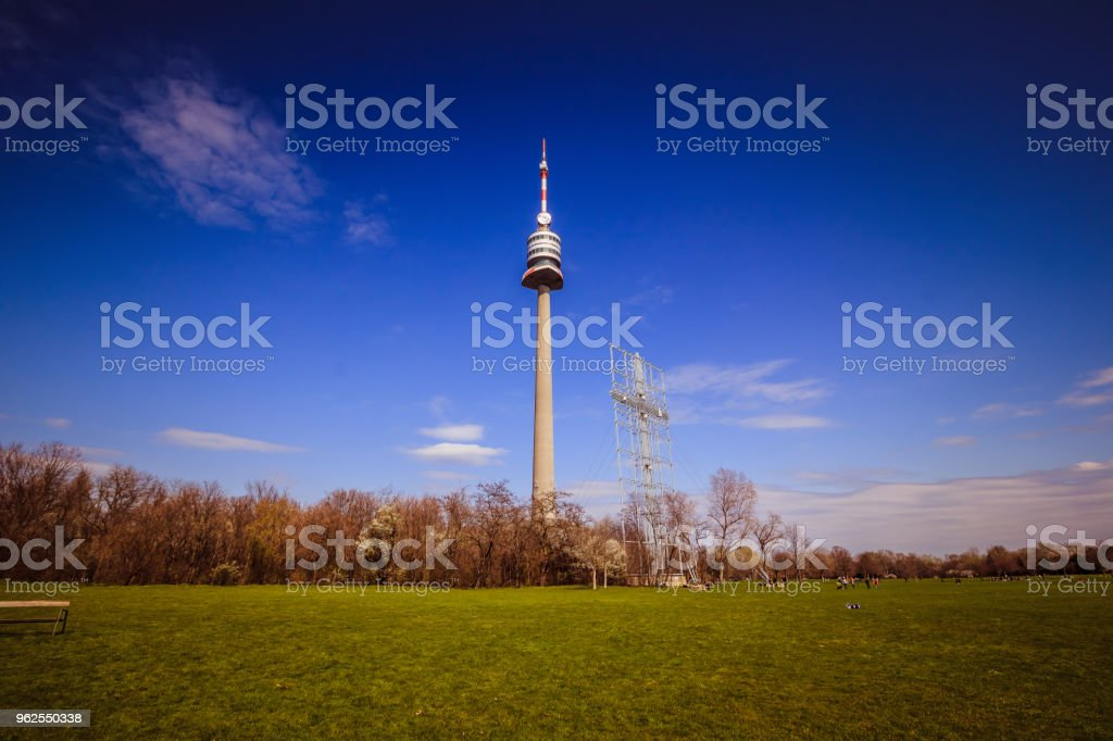 The Vienna Danube Park in spring, Austria - Royalty-free Austria Stock Photo