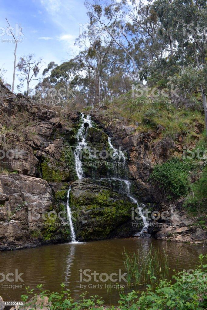 The view around Morialta Conservation Park, Adelaide, South Australia stock photo