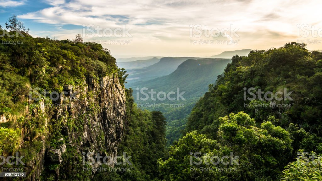 The view at God's Window. stock photo