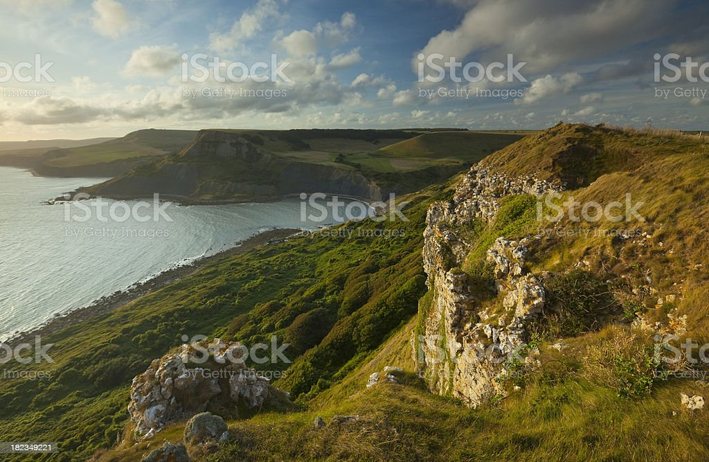 The view from Emmett's Hill stock photo