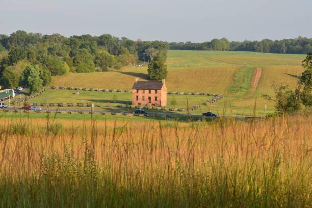 Der Blick von Matthews Hill, Manassas, Virginia. – Foto