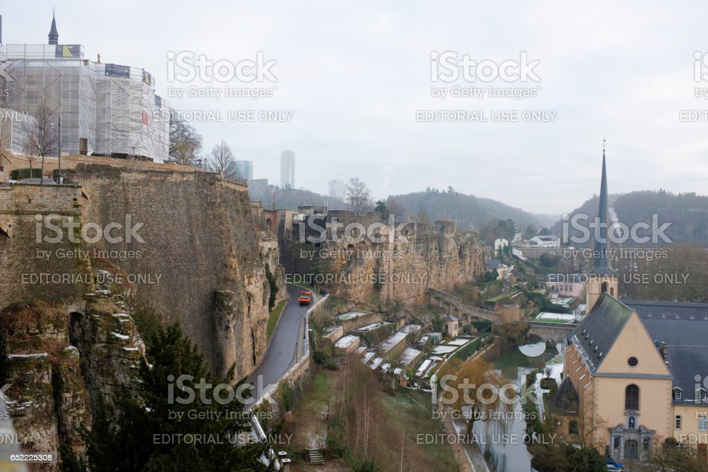 The view from the most beautiful balcony of Europe stock photo