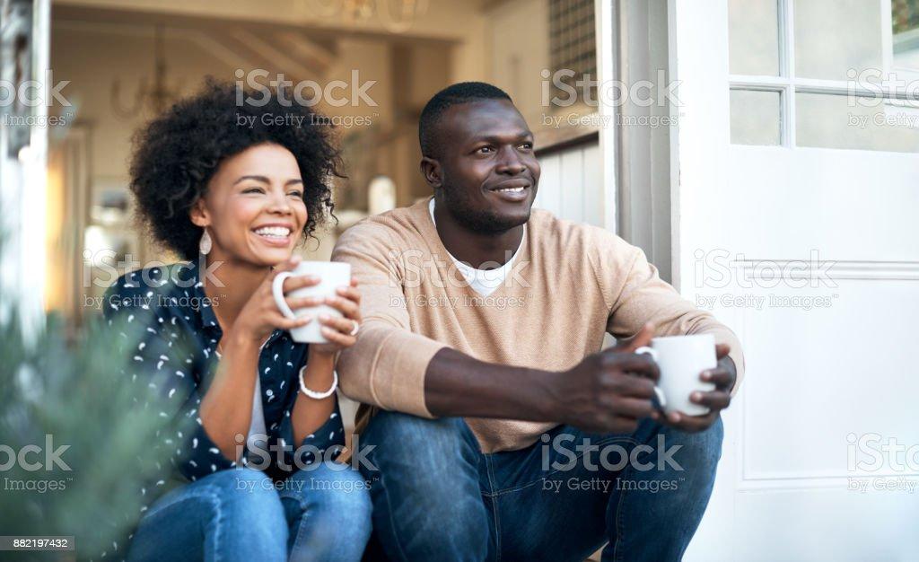 Die Aussicht ist fast so groß wie unsere Beziehung – Foto
