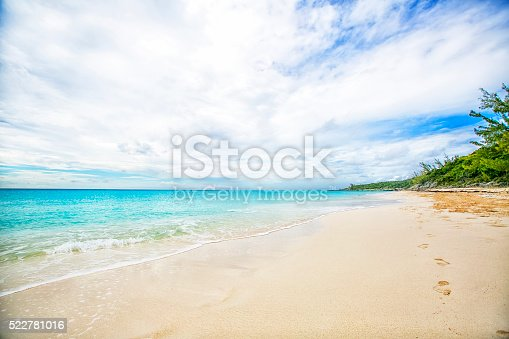 istock The view of a beach  on uninhabited island 522781016