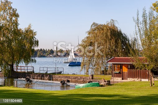 istock The view of Island Frauenchiemsee in Lake Chiemsee, Bavaria, Germany 1251504463