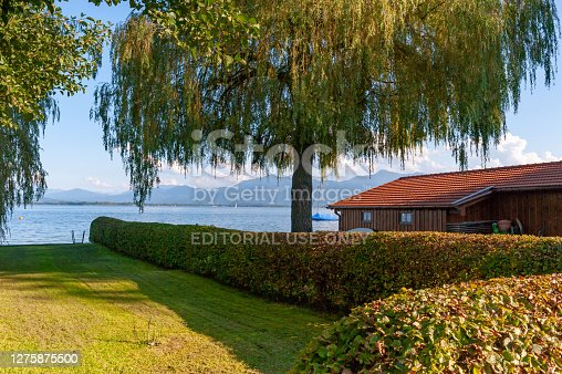 istock The view of Island Frauenchiemsee in Lake Chiemsee, Bavaria, Germany 1275875500